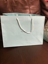 Authentic Tiffany Blue Large Paper Bag