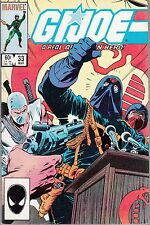 G.I. JOE #33 1985 -A REAL AMERICAN HERO -NEW HEADQUARTERS -SNAKE-EYES....VF