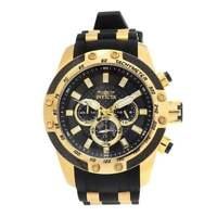 Invicta Men's Watch Speedway Black and Gold Tone Dial Two Tone Strap 25940