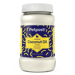 Petpost | Coconut Oil for Dogs - For Dry, Itchy, Skin & Coat