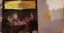 SCHUBERT STRING QUARTETS MELOS QUARTETT STUTTGART DG 2530899 LP