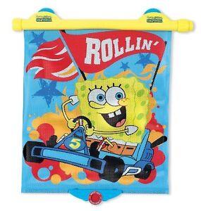 Munchkin SpongeBob SquarePants White Hot Safety Sunblock Car Shade, Blue