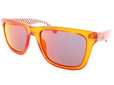 LACOSTE Designer Sunglasses Transparent Orange / Purple Flash Mirror L750S 800