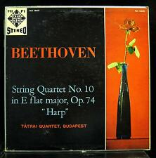 TATRAI QUARTET beethoven string no 10 harp LP Mint- TCS 18025 Telefunken 1961 US