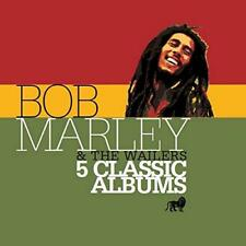 Bob Marley And The Wailers - 5 Classic Albums (NEW CD SET)