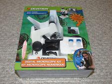 Celestron Digital Microscope Kit 600x Power With LED Illumination