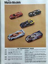 LAST FEW! Marsh Models 1/43 Kit MM9 - 1971 Le Mans Gulf Porsche 917L RARE