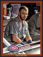 Ian Happ 2017 Topps Update Photo Variation Rookie Card #US10 CHICAGO CUBS