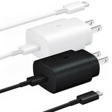 Samsung Galaxy Note10 10+ 5G Super Fast Charging Wall Charger USB-C Type-C Cable