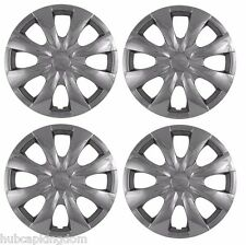"2009-2013 TOYOTA COROLLA 15"" 8-spoke  Hubcaps Wheelcover CHROME SET of 4"
