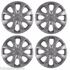 "2009-2013 TOYOTA COROLLA 15"" 8-spoke  Hubcaps Wheelcover CHROME SET of 4"