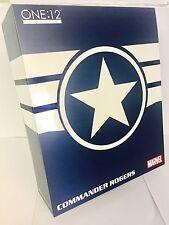 ONE:12 Collectif commandant Rogers Captain America Action Figure Mezco Previews
