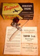 Vintage Taipan 1.00 cc Diesel, model aircraft, airplane engine