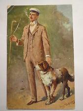 Vienna-pennale bel ragazzo gambale thuiskonia - 1915-un bel ragazzo-cane