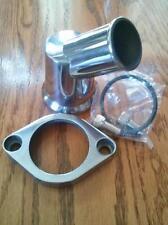 Thermostat Housing Water Neck Chevy V8 Swivels 360 45 Deg.Angle Billet Alum.4930