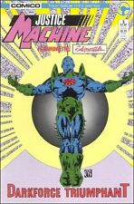 JUSTICE MACHINE FEATURING THE ELEMENTALS #3 OF 4 ISSUE MINI-SERIES COMICO COMICS