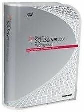 SQL Server 2008 R2 Workgroup, 5 CAL, EN - Never Used or Activated - No Reserve