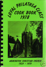 *ARMINGTON IL 1978 VINTAGE *LOYAL PHILATHEA CLASS COOK BOOK *CHRISTIAN CHURCH