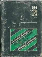 LAMBORGHINI TRACTOR 956, 1106 & 1306 TURBO OPERATORS MANUAL