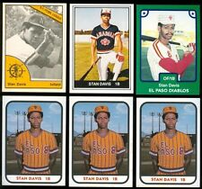 1977-1984 Stan Davis Card Lot (6) - Nathalie Virginia, Halifax High School A132
