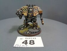 Warhammer 40,000 Chaos Space Marine Forge World Iron Warriors Dreadnought 48-735
