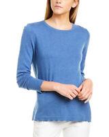 J.Mclaughlin Henri Cashmere-Blend Sweater Women's Blue Xs