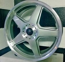 18x7.5  5/114.3 /4/114 SILVER RACING HART CX ALLOY WHEELS suit VARIOUS CARS