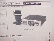 1975 REGENCY CB RADIO SERVICE SHOP MANUAL MODEL CR-186