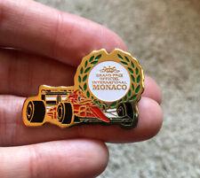 Vintage Monaco Grand Prix Monaco Lapel Pin — Grand Prix Officiel International
