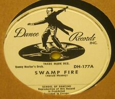 Swamp Fire DANNY HECTOR'S Orchestra 78 Phonograph Record FLEXIBLE