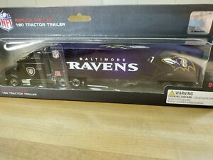 Baltimore Ravens Diecast 1:80 Scale Semi Truck 2011  LAMAR JACKSON J K DOBBINS
