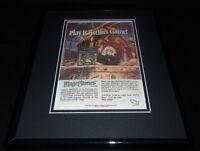 TSR 1990 Mage Stones 11x14 Framed ORIGINAL Vintage Advertisement
