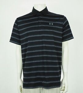 Under Armour UA ColdBlack Scratch Tech Golf Polo Shirt Mens Large