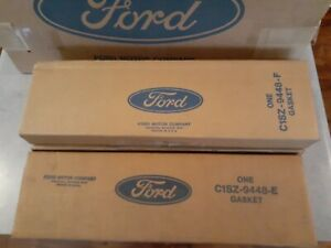 Ford NOS 1965 - 1968 Thunderbird  Exhaust Manifold Gasket C1SZ-9448-E & F lot