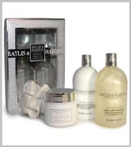 Baylis & Harding England Limited Edition Jojoba, Silk & Almond Oil Gift Set
