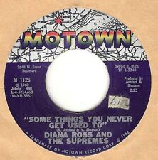 45RPM, DIANA ROSS /SUPREMES ' SOME THINGS U NEVER GET USE TO , EXC' MOTOWN