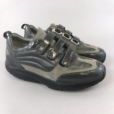 MBT 39 UK6 Grey Leather Toning Healthy Walking Trainers Comfort Sneakers Shoes