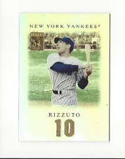 2001 Topps Tribute #69 Phil Rizzuto Yankees