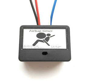Srs airbag mini car timer switch light relay 1 to 25 sec delay off 12v 1a box