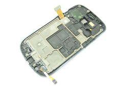 bianco ~Frame+ LCD Display Touch schermo+key Fit Samsung Galaxy S3 mini GT-i8190