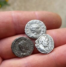Metal detecting finds.Roman silver..