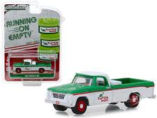 """1962 DODGE D-100 """"TURTLE WAX"""" PICKUP TRUCK 1/64 DIECAST CAR GREENLIGHT 41070 B"""