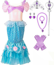 Romy's Collection Mermaid Princess Dress-up Costume Set