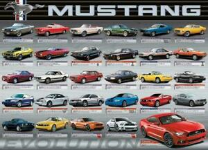 Eurographics Ford Mustang Evolution Jigsaw Puzzle (1000 Pieces) EG60000684