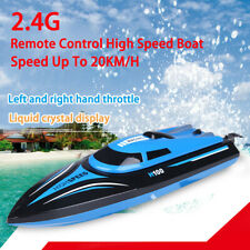 Tk H100 2.4G Rc Boat Water Cooling 20Km/H Rc Simulation Racing Boat Outdoor Toys