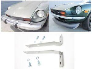 Datsun 260Z 280Z to 240Z Front Bumper Conversion Brackets Light weight 30-J8228