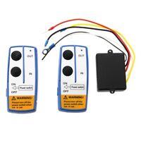 SODIAL(R) Telecommande sans fil Telecommande treuil electrique C9P7