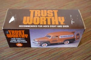 Trustworthy Die Cast 1948 Ford F-1 Panel Delivery Truck, Spec Cast, new/unopened