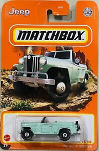 Matchbox 1948 Willys Jeepster Green 2021 New Release