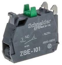 Schneider ZBE-101 Normally Open Contact block ZBE 101